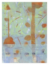 Sally Bowring Works on Paper acrylic