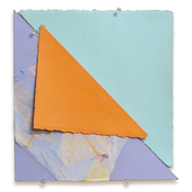 Sally Bowring Images, Installations and Ideas painted paper, collage, masonite