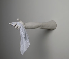 Samantha Russell Sculptures Ceramic, Handkerchief