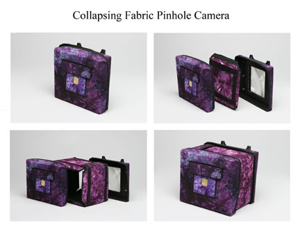 Photography Collaping Fabric Pinhole Camera