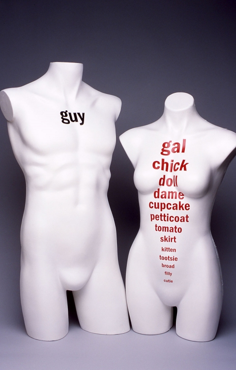 Sculpture Man/Woman Series #1: Guy/Gal