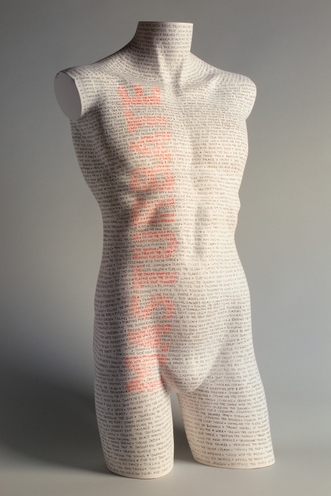 Sculpture Taboo Words #1: Masturbate