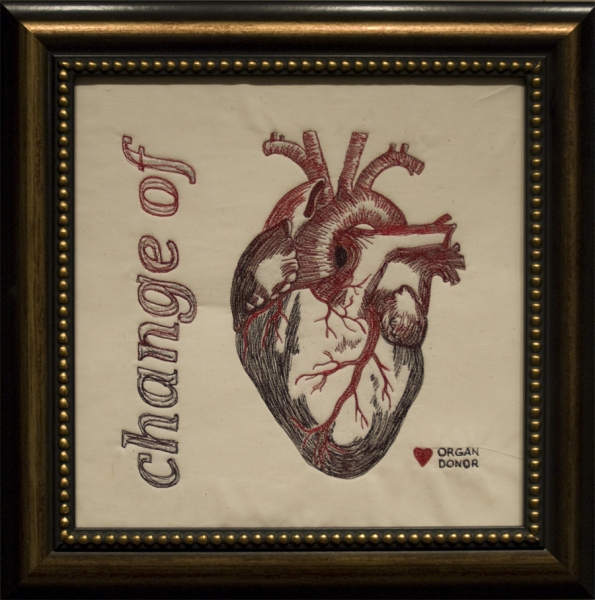 Embroidery Change of Heart