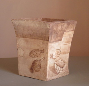 Sam Thurston Ceramics - pots and plates unglazed clay