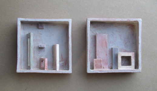Sam Thurston Shadowboxes and Other Experimental Relief Ideas