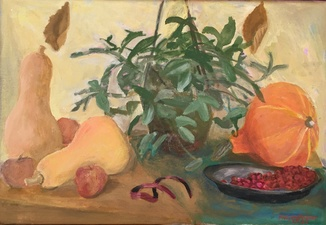 Sam Thurston Marjorie Kramer's paintings oil on linen canvas