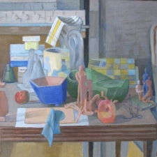 Sam Thurston South Deerfield Still Life Show (2011) o/c