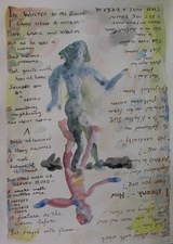 Sam Thurston Poem Drawings watercolor