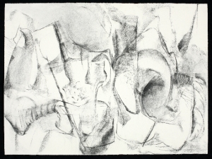 SANDRA K. MEAGHER Other Works on Paper charcoal on paper