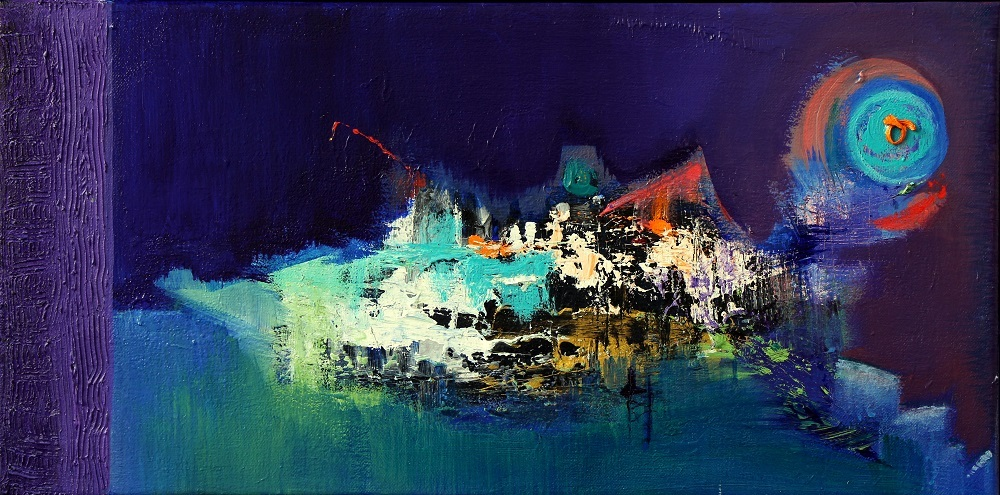 """ABSTRACT SPACE"" THE NIGHT VISION"