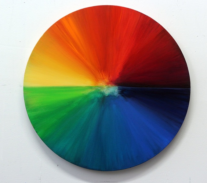 "EXPO Milano 2015 - ""CIRCLE OF LIFE"" YOU ARE WHAT YOU EAT: FOOD DYE COLOR WHEEL"