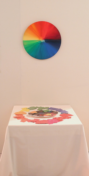 "EXPO Milano 2015 - ""CIRCLE OF LIFE"" FOOD DYE COLOR WHEEL - Audience Participatory Installation"