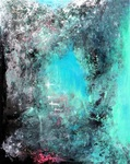 Sandra Vucicevic ABSTRACT SPACE Mixed media on canvas