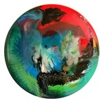 Sandra Vucicevic ABSTRACT SPACE Acrylic, glass and resin on wood