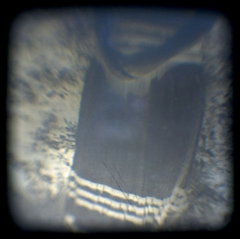 TTV Through the Viewfinder Folded Hands