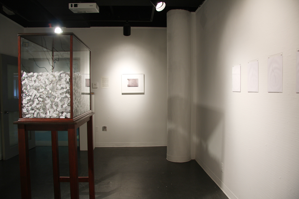 I thought I dreamed of you / installation view<br/>