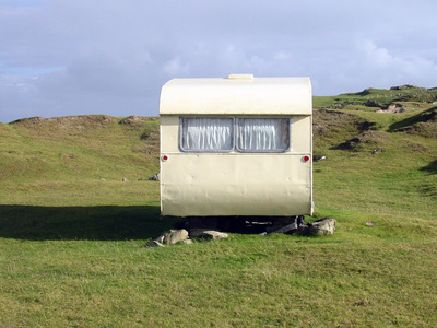Sarah Iremonger Caravans 2004 Photograph printed on epson glossy photo paper