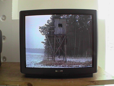 Sarah Iremonger The Hunting Box Party 2003-11 Video, TV monitor