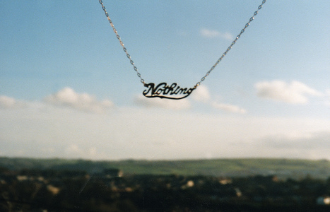Sarah Iremonger Nothing 1998-2003 Silver identity necklace
