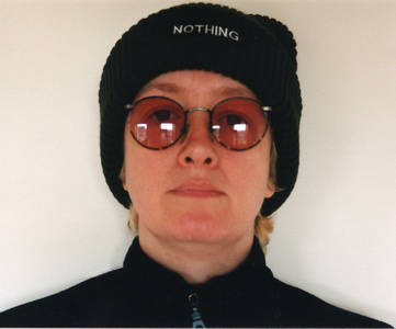 Sarah Iremonger Nothing 1998-2003 Hat, embroidered name tag
