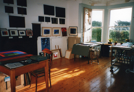Sarah Iremonger Nothing & The Quandary of Painting 1998-2003 Studio view