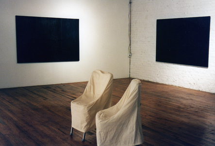 Sarah Iremonger Paintings 1994-97 Oil on canvas on board (both)