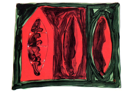 Sarah Iremonger Paintings 1990-93 Acrylic on paper