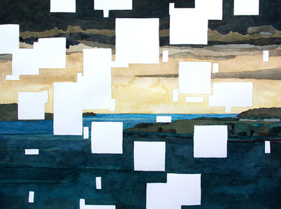 Sarah Iremonger Horizons 2014-19 Watercolour on paper