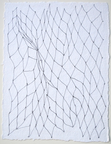 Sarah McDougald Kohn 2011 Pen on paper
