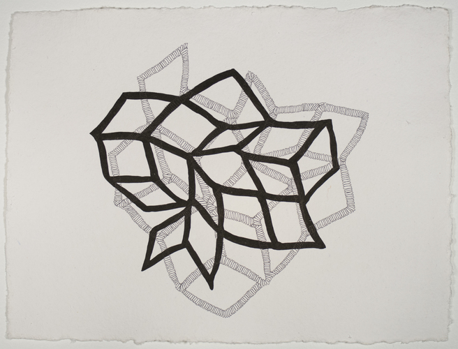 Sarah McDougald Kohn 2012 Pen and ink on paper