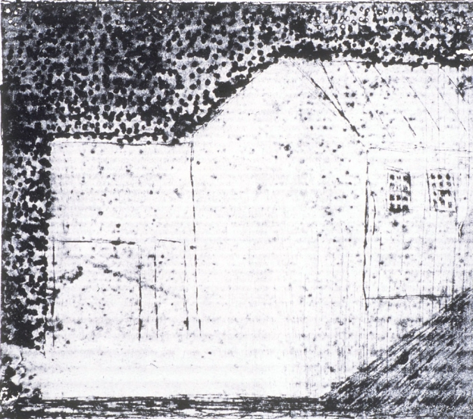 Monoprints Untitled (The Mill)