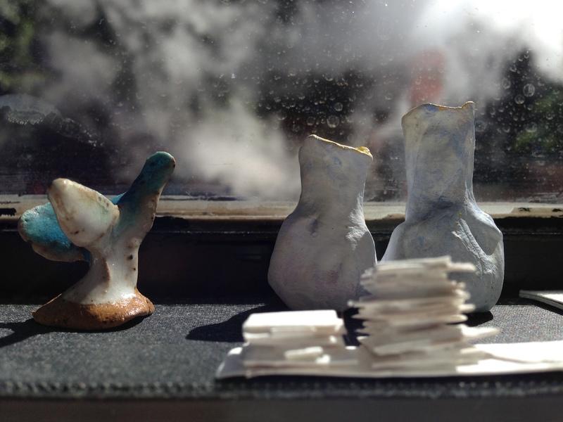 Sara Russell  Along the Sill at Pocket Utopia - 2013
