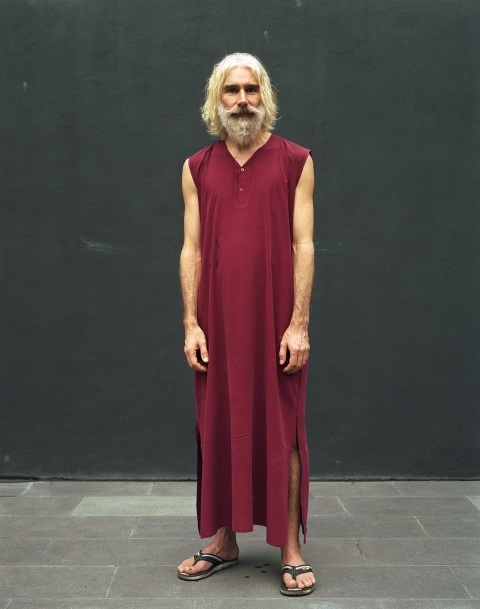 <b>The Searchers (Part II)</b> American disciple at the Osho International Meditation Resort (Pune, India)