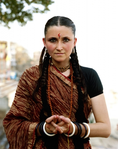 <b>The Searchers (Part II)</b> American Shiva devotee, high on ritual hash during the Night of Shiva festival (Varanasi, India)