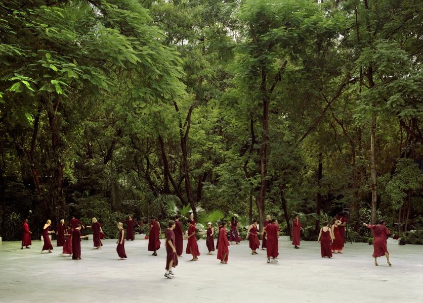 <b>The Searchers (Part I)</b>  Dancing Meditation at the Osho International Meditation Resort (Pune, India)