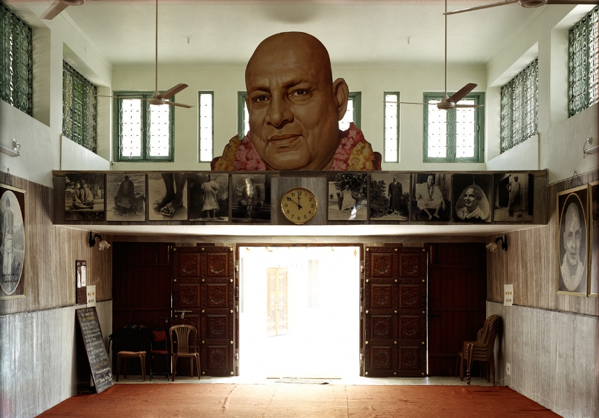 <b>The Searchers (Part I)</b>  Temple dedicated to Swami Sivananda (Rishikesh, India)