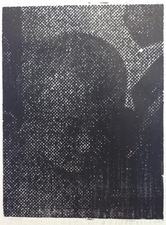 Scott Marvel Cassidy Woodcuts Woodcut on ricepaper.