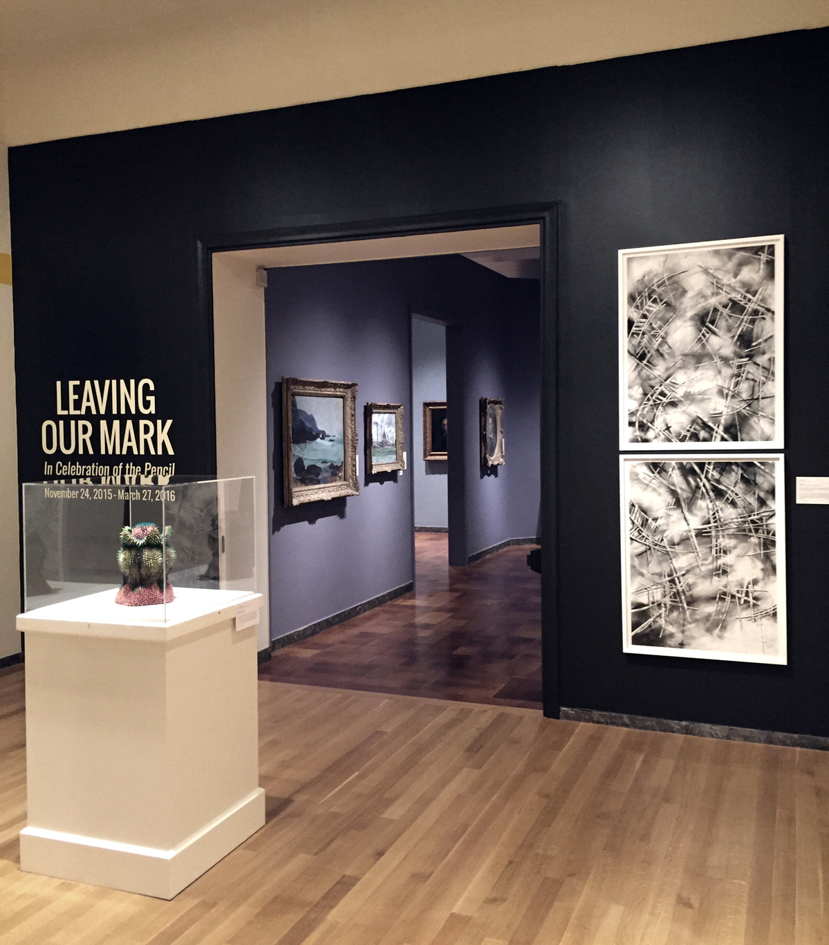 "exhibit photos ""Leaving Our Mark"""