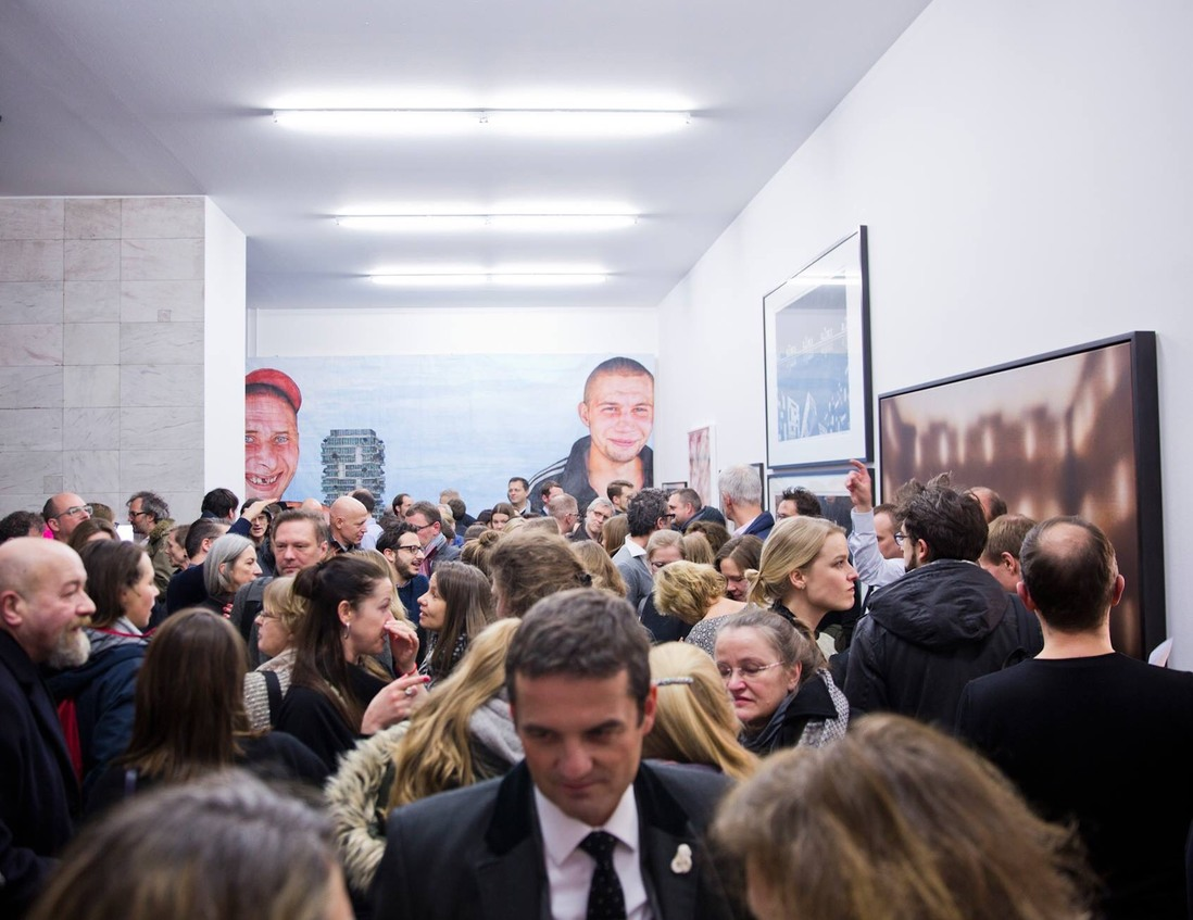 exhibit photos Architektur Galerie Berlin opening