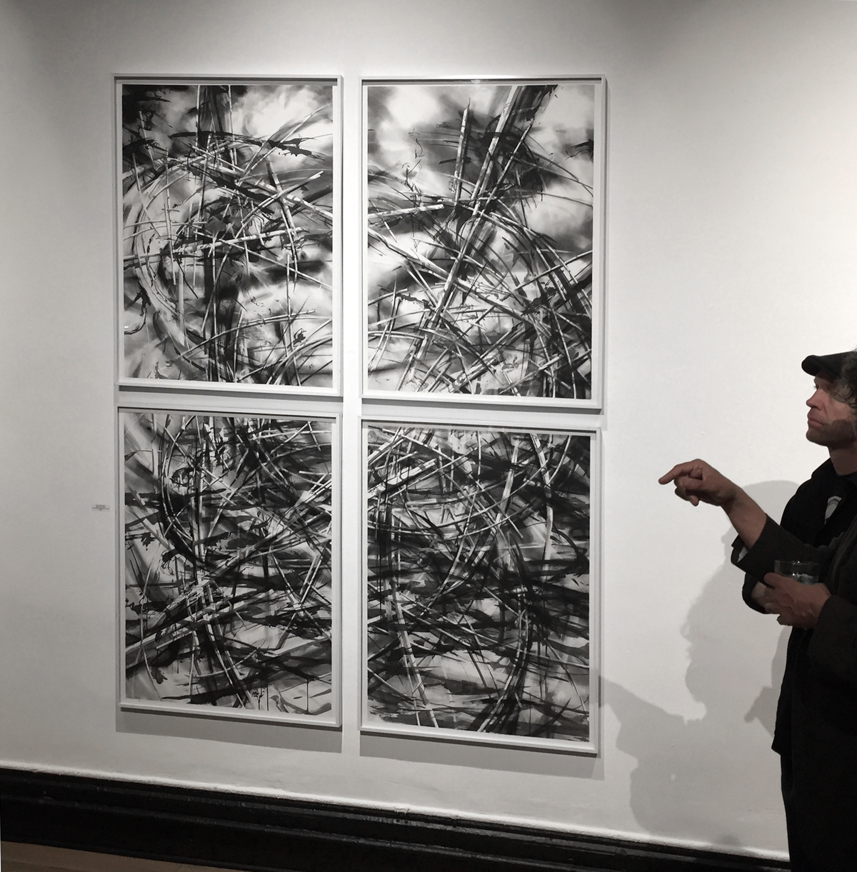 recent drawings and openings 111 Minna Gallery opening