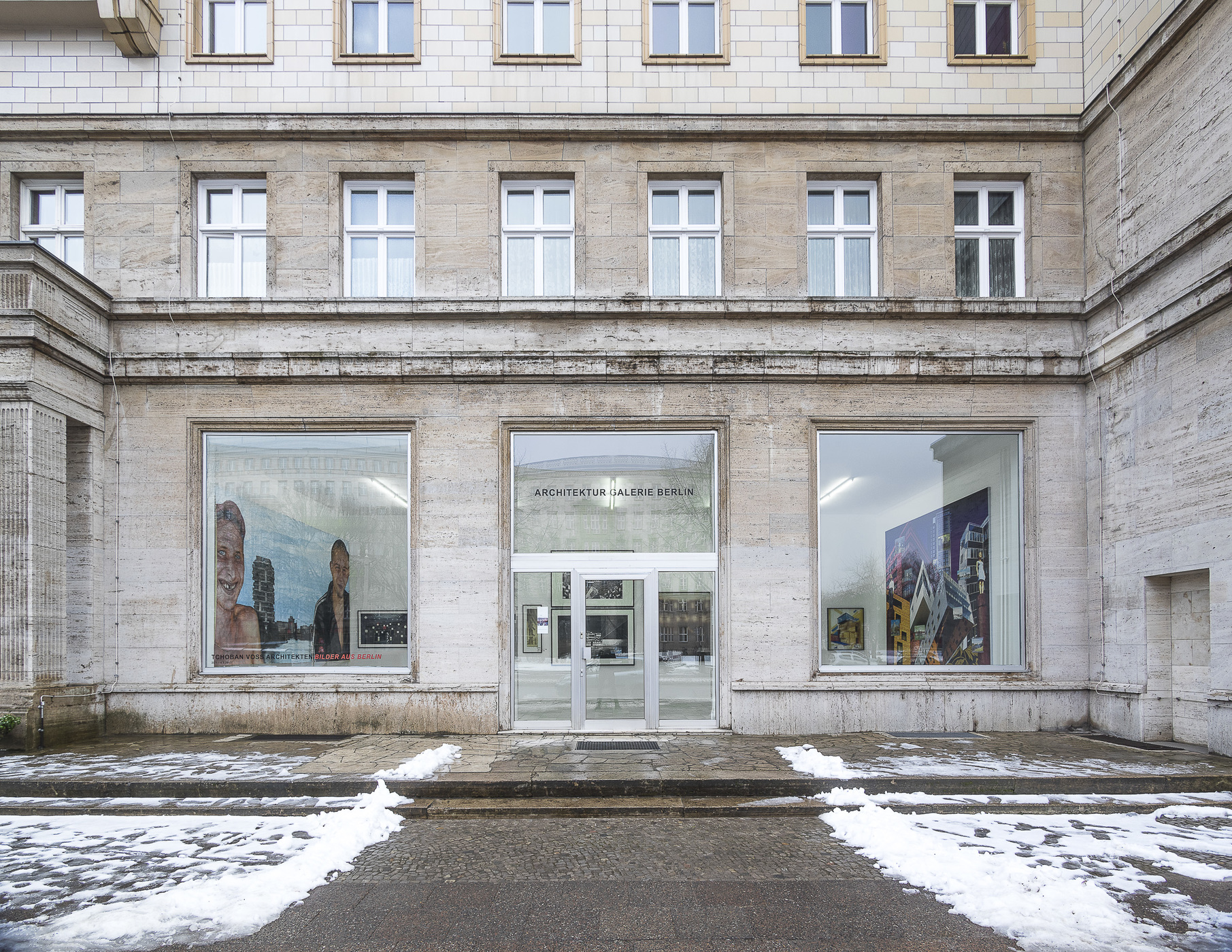 recent drawings and openings Architektur Galerie Berlin January 2017