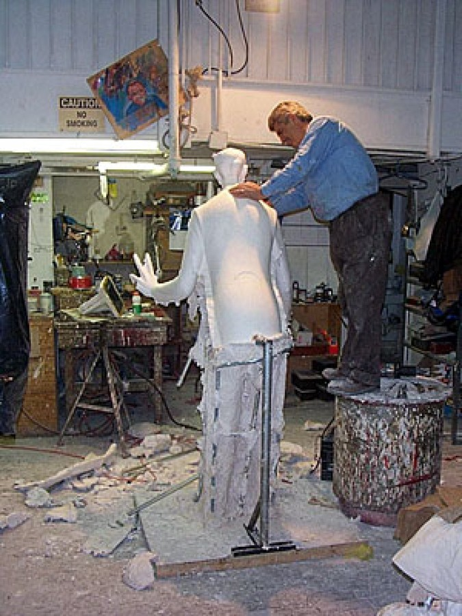 Sculpture house casting: handmade: casting examples.