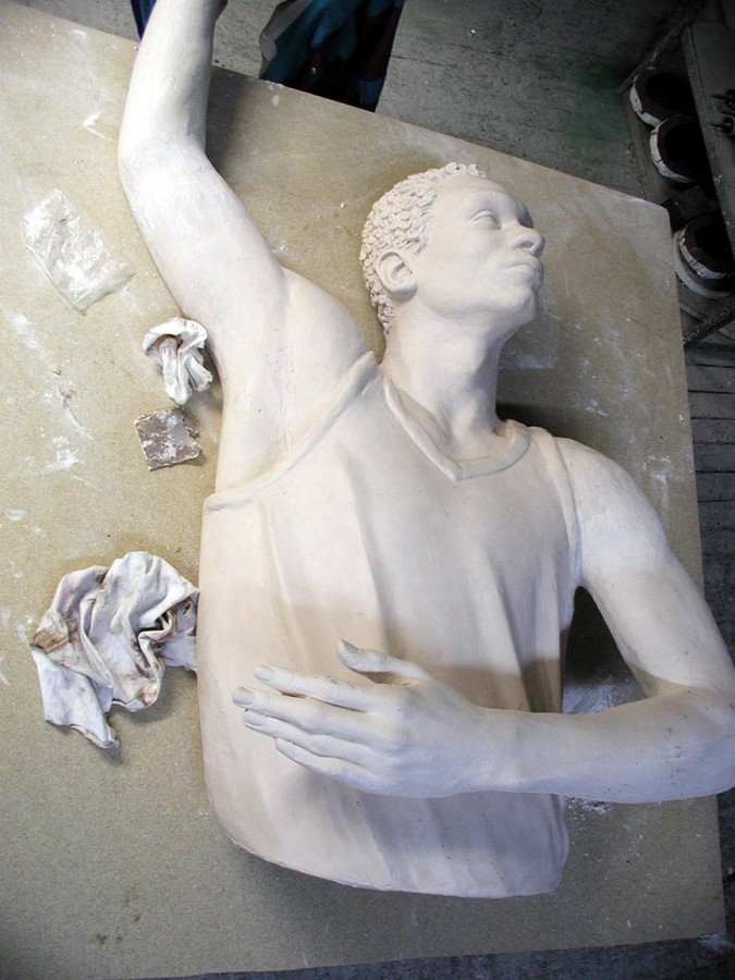 Sculpture: types and means of production.