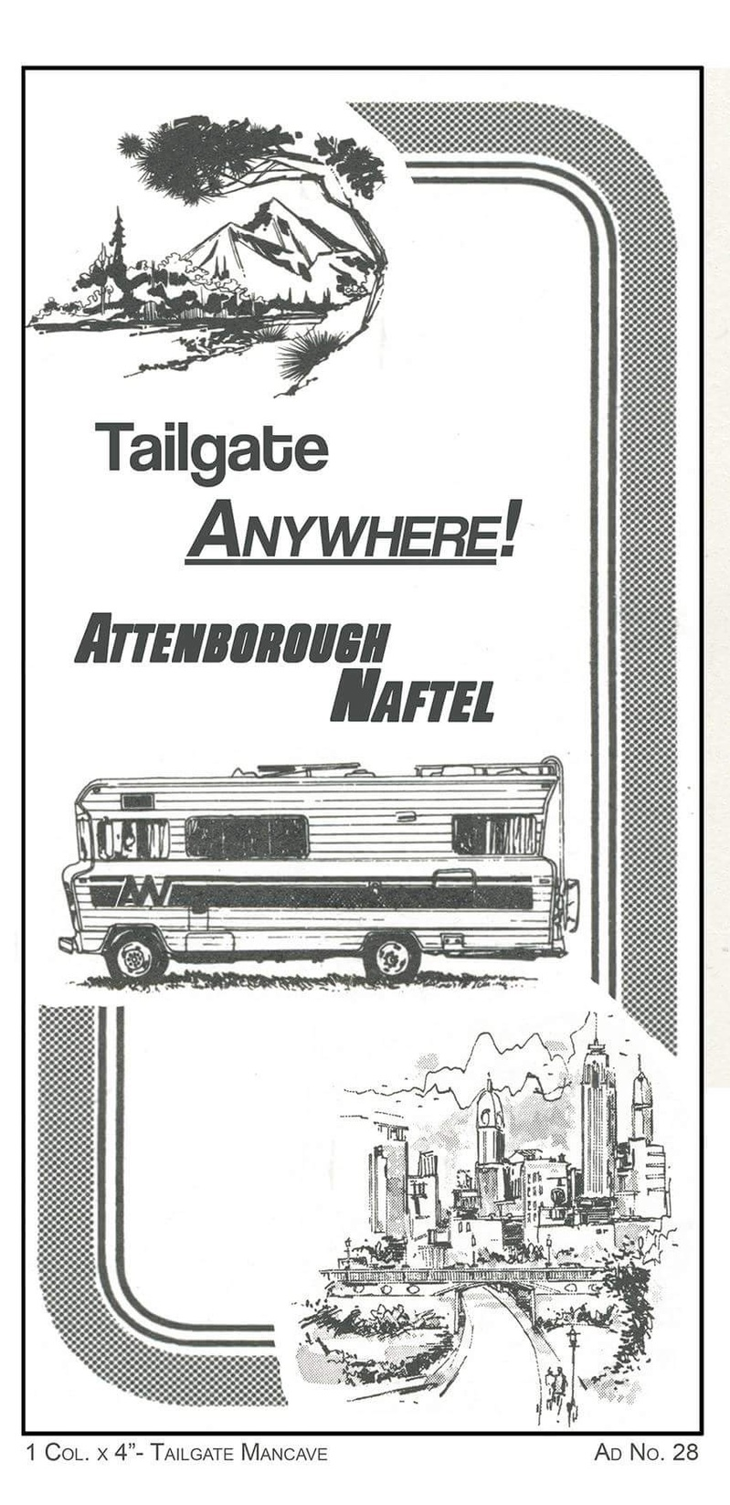Tailgate Man Cave Tailgate Man Cave Ad No. 28