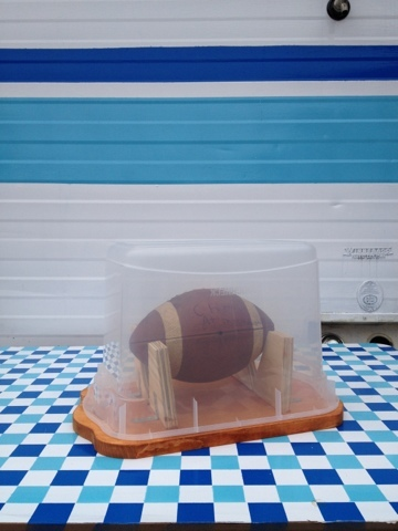 Tailgate Man Cave Collectible Football
