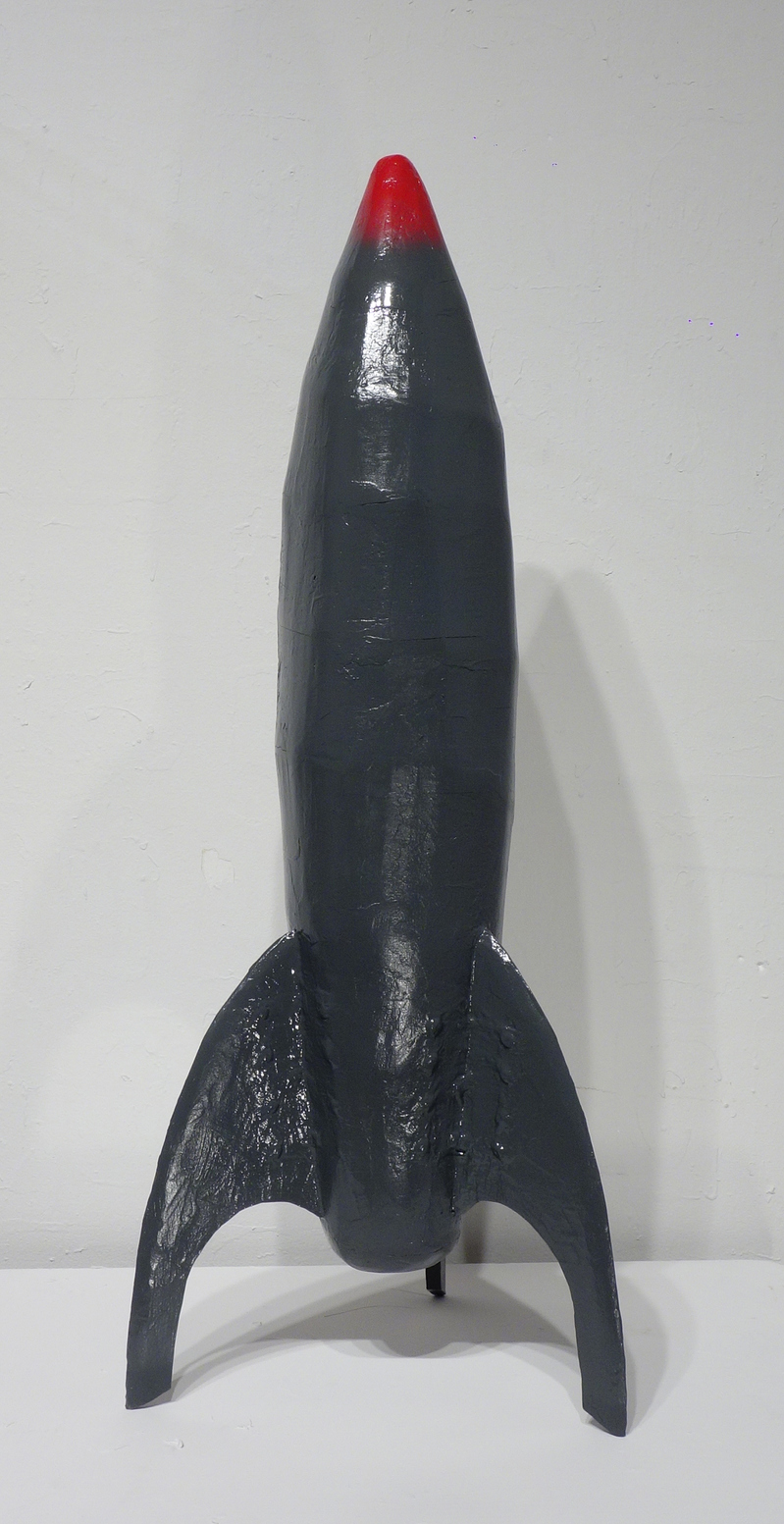 Present-2010 Rocket for Modular Sculpture (working title)