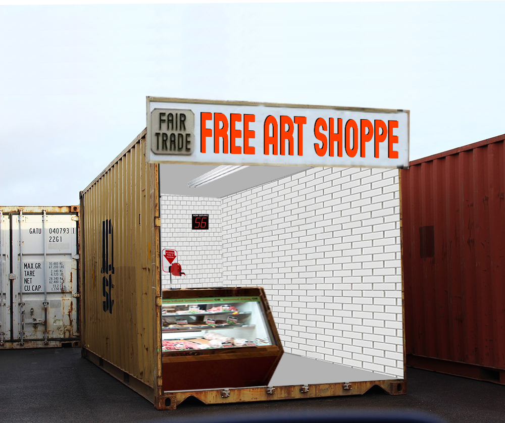 Proposed & Design Work Free Art Shoppe