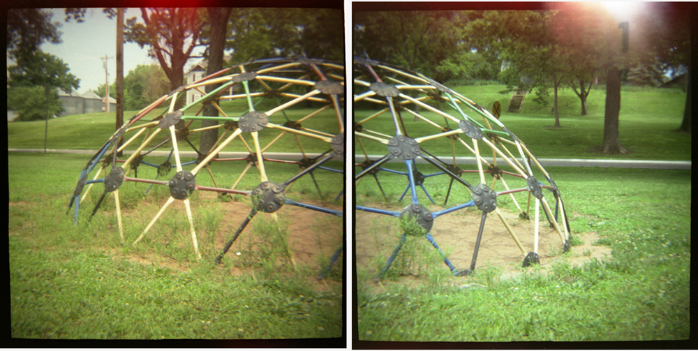 Available Works Playground (dome diptych)