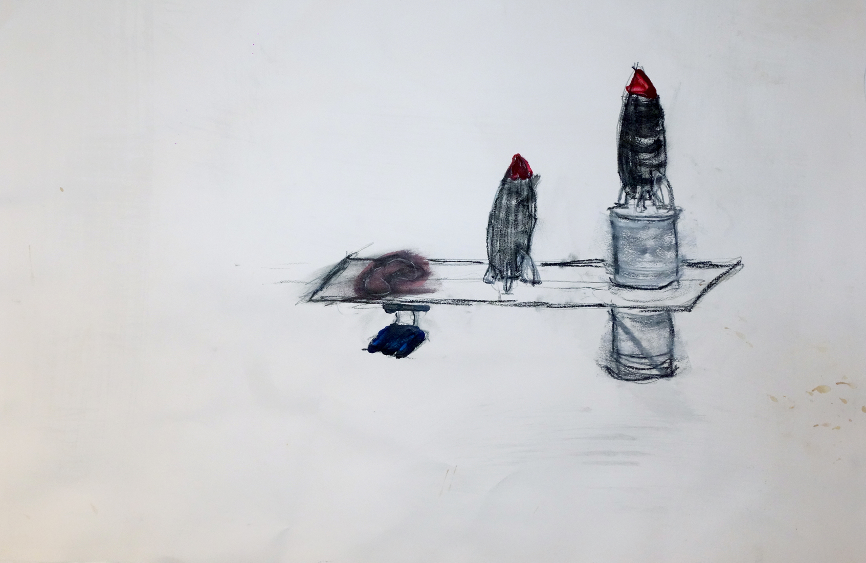 Peripersonal Gallery Drawing for Modular Sculpture (2)