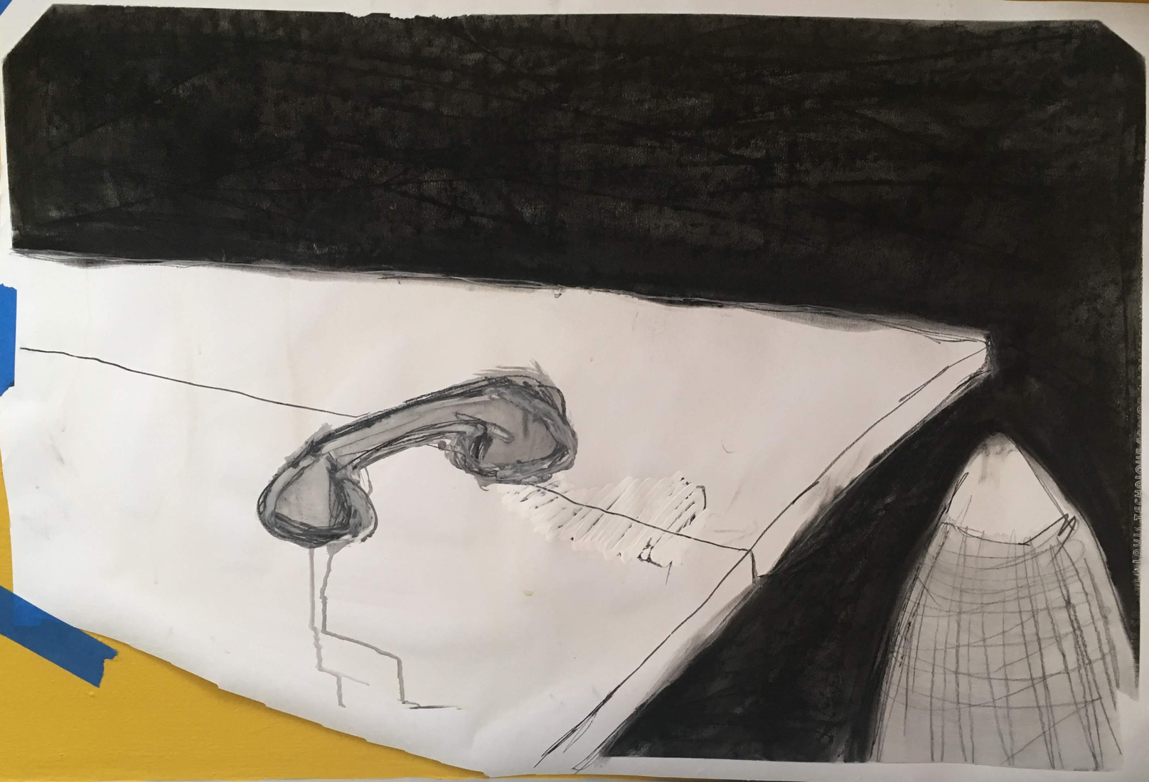 Peripersonal Gallery Drawing for Modular Sculpture (4)